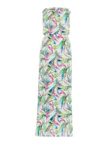 Freya Tropicool bandeau maxi dress