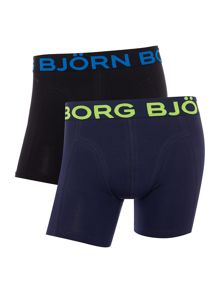 Bjorn Borg 2 Pack Flouro Waistband Trunks