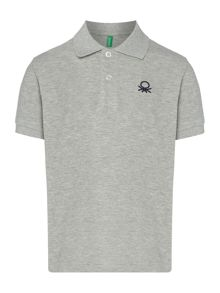 Benetton Boys Logo Polo Shirt