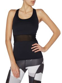 Acai Fitted tank with bra