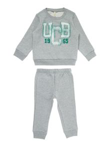 Benetton Boys UCB Logo Tracksuit Set