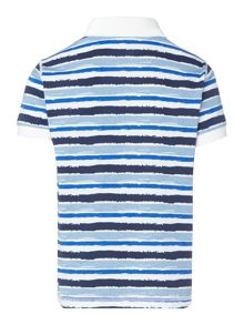 Benetton Boys Striped Polo Shirt