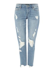 Bardot Kimye Distressed and destroyed jeans