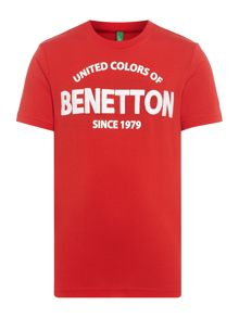 Benetton Boys United 1979 Short Sleeve T-Shirt