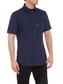 G-Star Short sleeve atton stretch poplin shirt