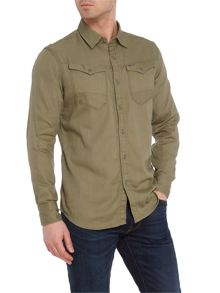 G-Star Ultra lightweight diamond denim shirt