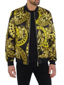 Versace Jeans All Over Print Bomber Jacket