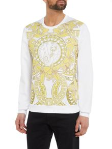 Versace Jeans All-over Floral Print Sweat Top