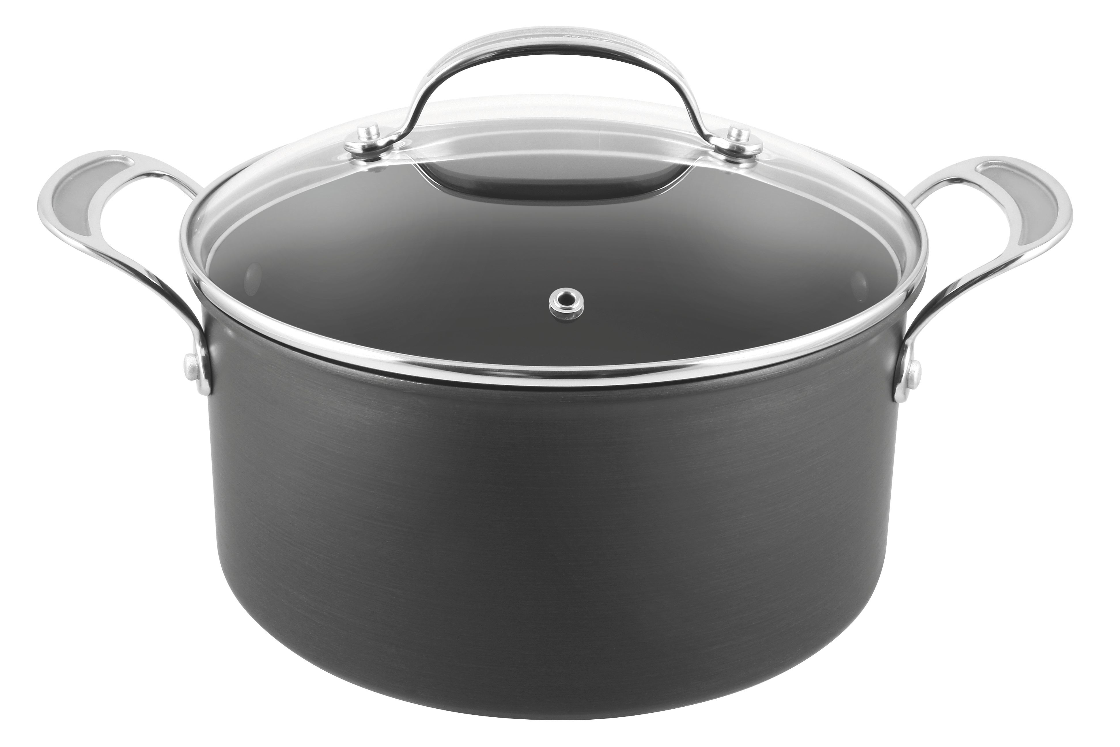 Jamie Oliver by Tefal Hand Anodised Stewpot 24cm