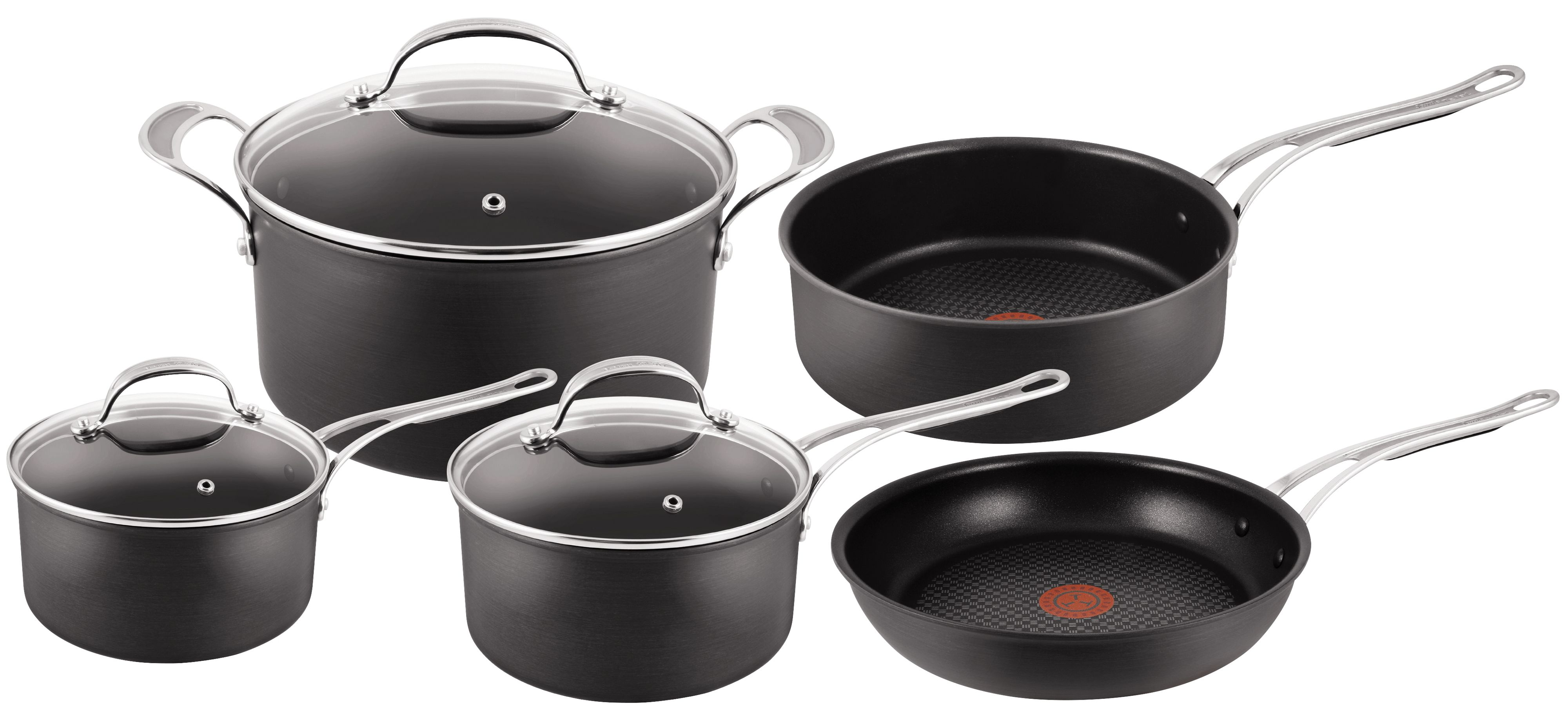 Jamie Oliver by Tefal Hard Anodised 5 Piece Set