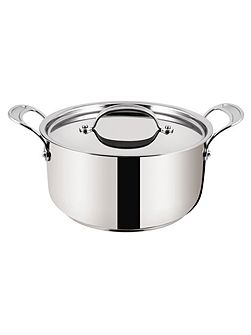 Stainless Steel Stewpot 24cm + lid