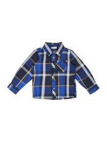 name it Boys Large Check Long Sleeve Shirt