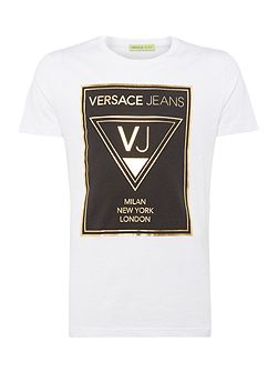 VJ Logo City Print T-Shirt