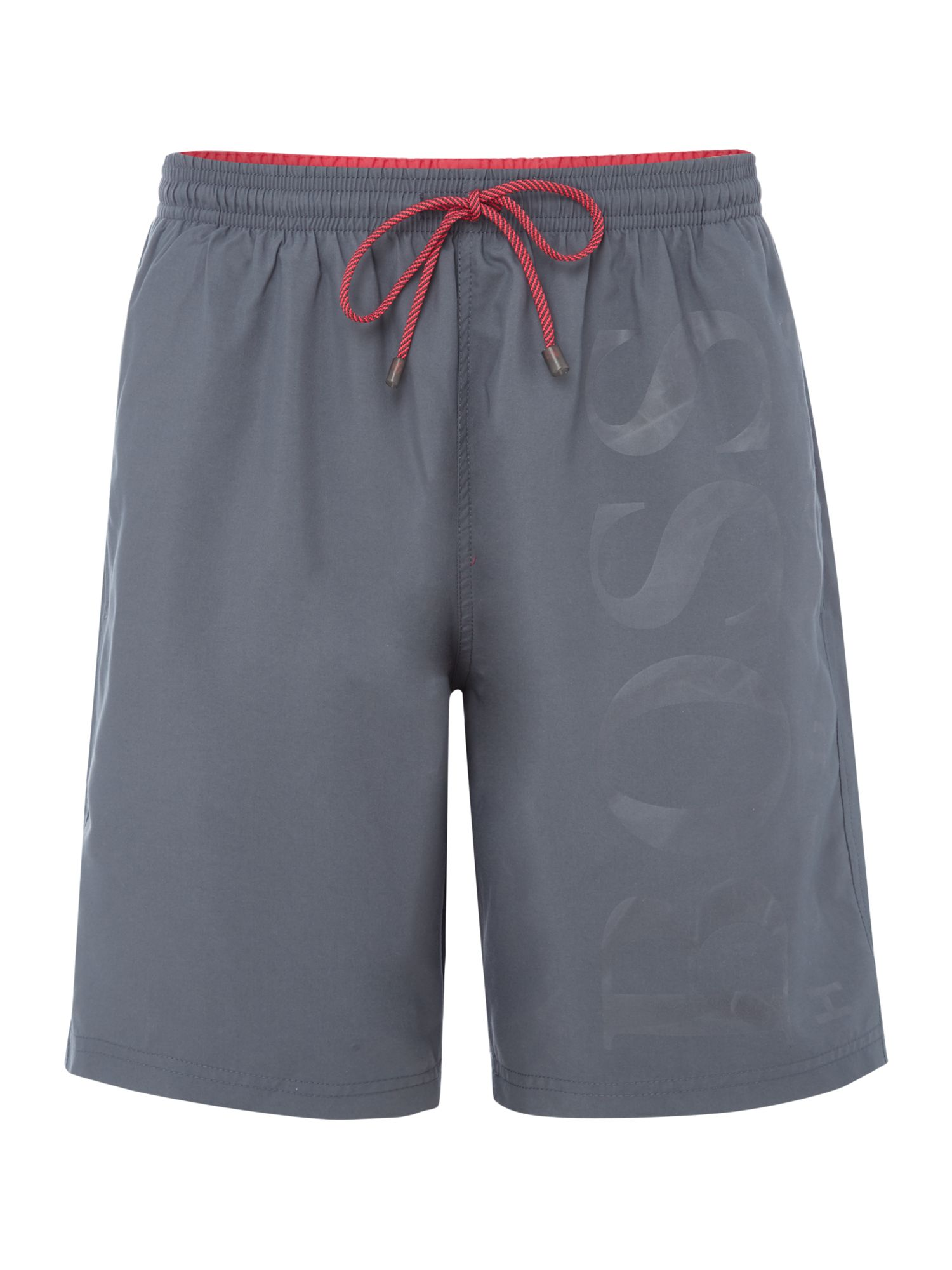 Men's Hugo Boss Orca Logo Shorts, Grey