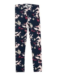 name it Girls Floral Print Leggings
