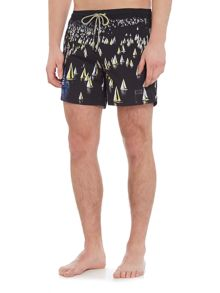 Hugo Boss Mandarinfish Sail Boat Shorts
