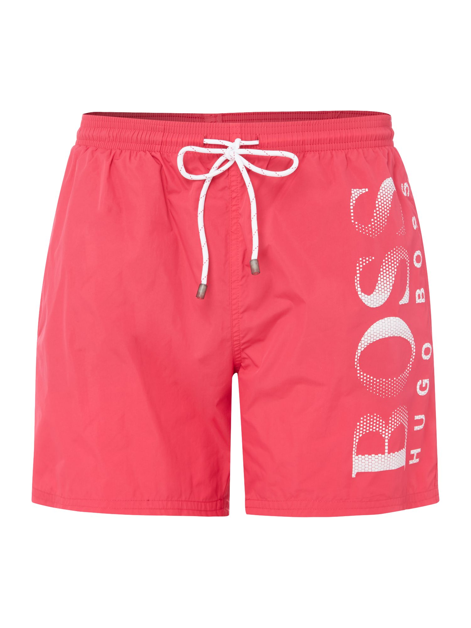 Men's Hugo Boss Octopus Swim Shorts, Pink