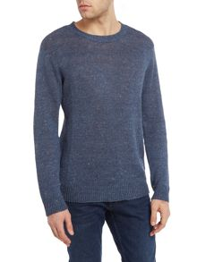 Denim and Supply Ralph Lauren Linen blend crew neck jumper