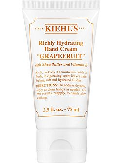 Richly Hydrating Hand Cream in Grapefruit 75ml