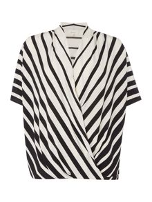 Linea Stripe cross over top