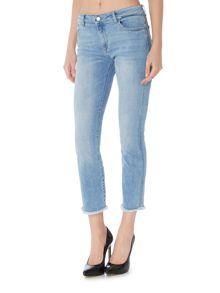 DL1961 Maria instasculpt cropped straight Jeans