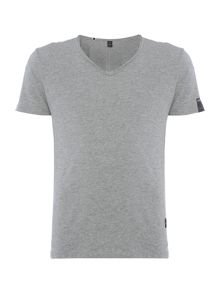 Replay Jersey V-neck T-shirt