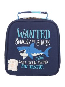 Joules Boys Wanted Shark Lunch Box
