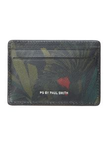 PS By Paul Smith Jungle Print Card Holder