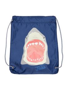 Joules Boys Shark Drawstring Bag