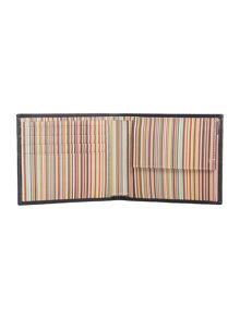 Paul Smith Internal Multistripe Coin Pocket Wallet