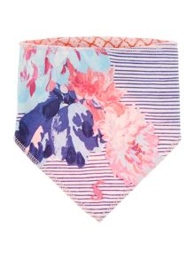 Joules Baby Reversible Floral Bib