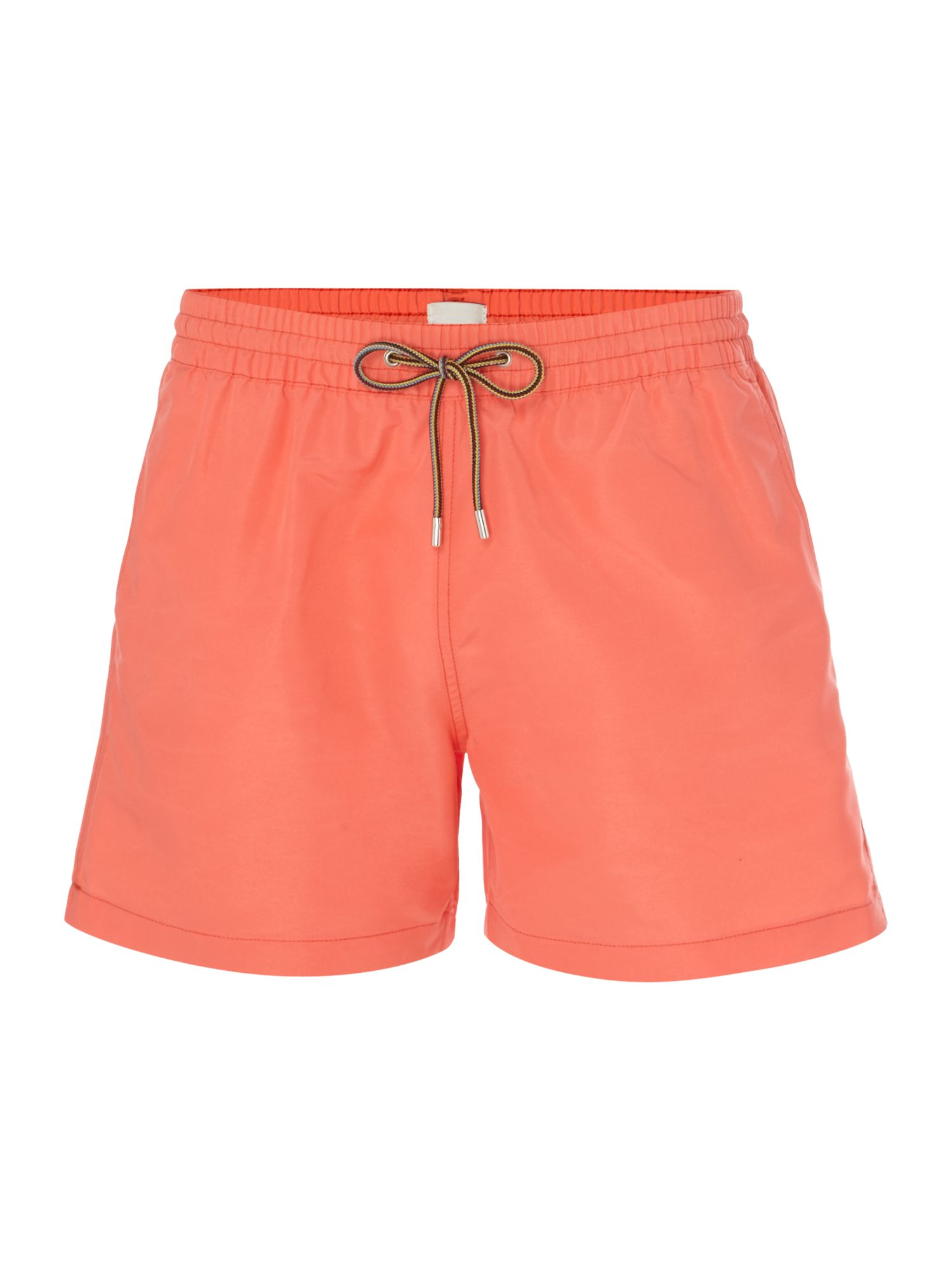 Men's Paul Smith Solid Colour Classic Swim Shorts, Pink