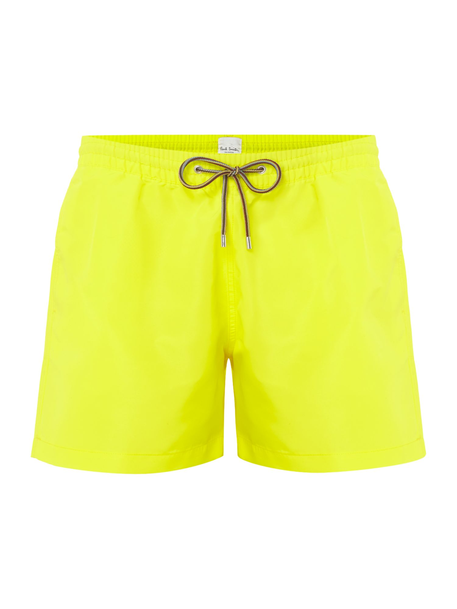 Men's Paul Smith Solid Colour Classic Swim Shorts, Yellow