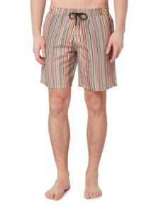Paul Smith Long Multistripe Swim Shorts