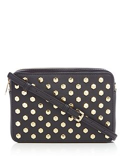 Pouches stud medium crossbody bag