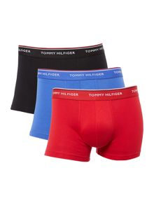 Tommy Hilfiger Contrast Waistband Trunk, 3-Pack