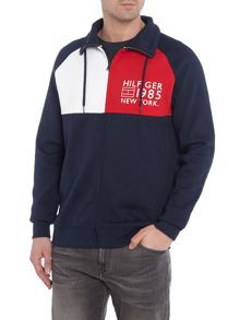 Tommy Hilfiger Tri-Colour Tommy Zip-Up