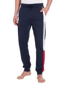 Tommy Hilfiger Tri-Coloured Cuffed Jogger Trousers