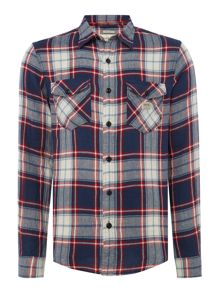 Denim and Supply Ralph Lauren Checked long sleeve shirt