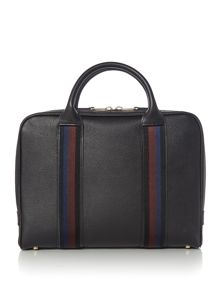 PS By Paul Smith Webbing Leather Portfolio Bag