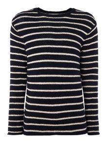 Denim and Supply Ralph Lauren Striped Long-Sleeve Jumper