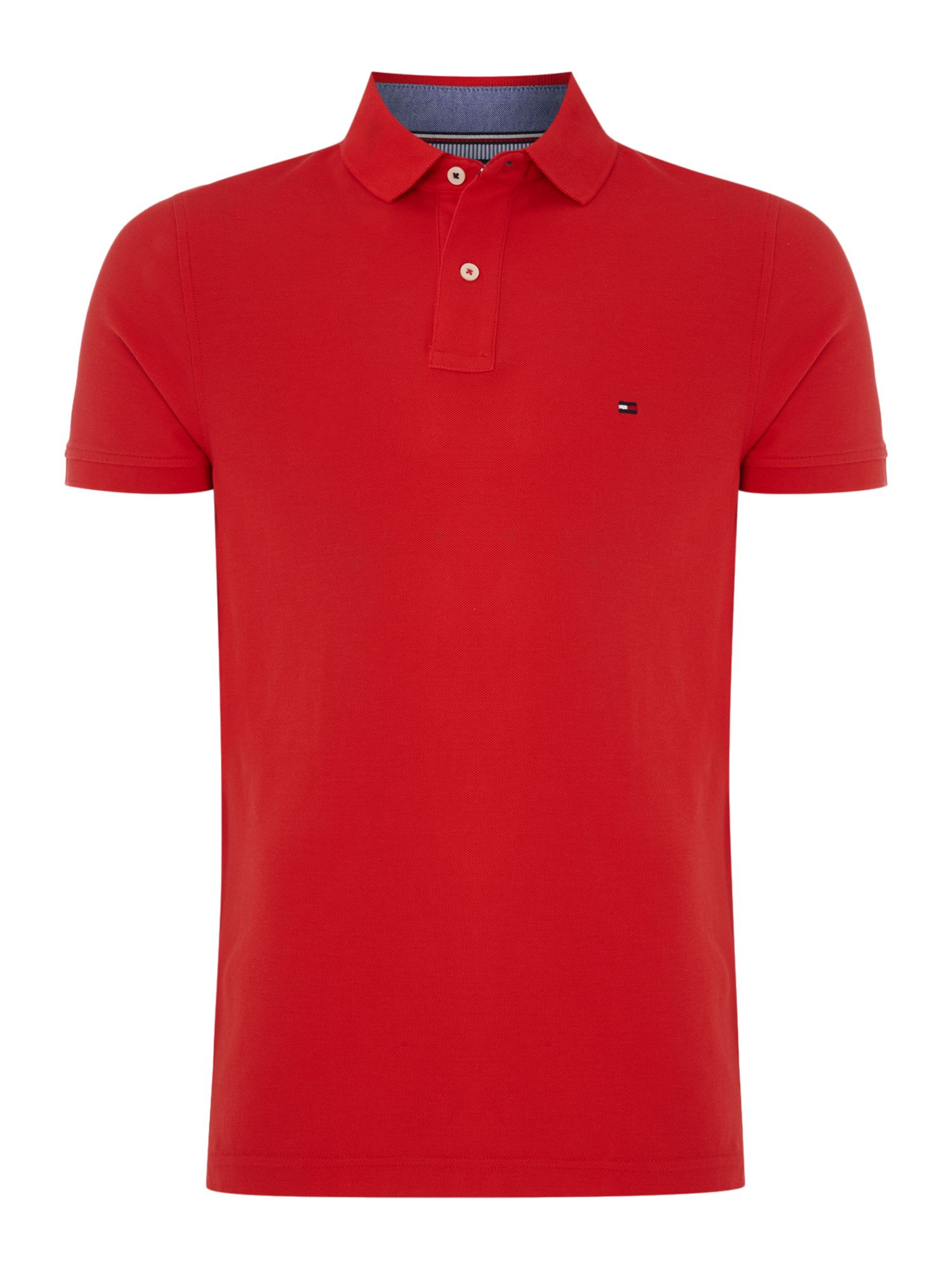 Men's Tommy Hilfiger Performance polo top, Dark Red