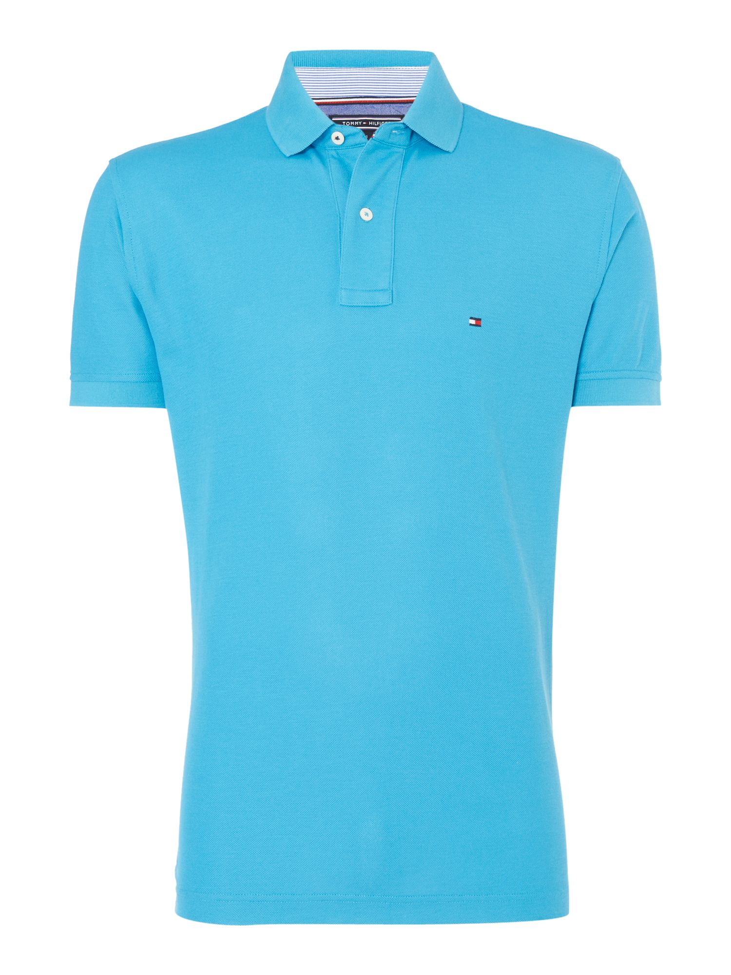 Men's Tommy Hilfiger Regular fit performance polo top, Blue