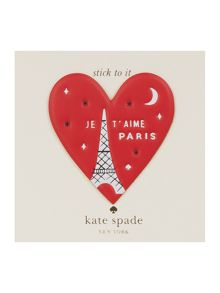 Kate Spade New York Ashe place heart sticker