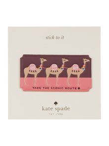 Kate Spade New York Ashe place take the scenic route sticker