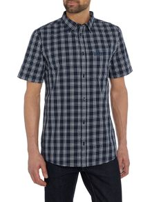 Jack Wolfskin Hot springs short sleeve check shirt