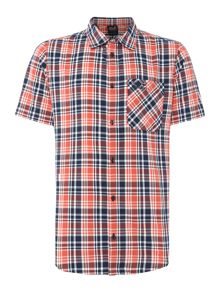 Jack Wolfskin Saint elmos short sleeve check shirt