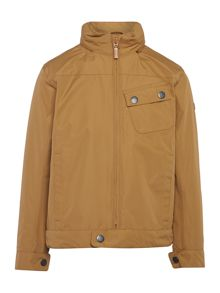 Barbour Boys Waterproof Biker Jacket Zip Up