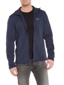 Jack Wolfskin Castle rock zip-up fleece