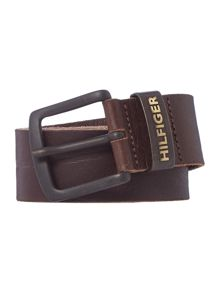 Tommy Hilfiger Leather Keeper Denim Belt